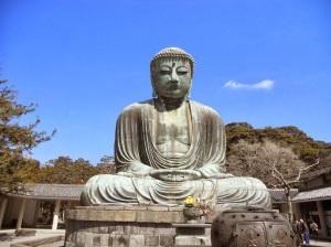 The Diabutsu in Kamakura, Japan-Spring 2014